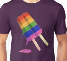 rainbow popsicle Unisex T-Shirt