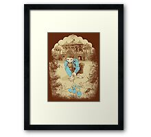 When I was kid Framed Print