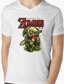 Legend of Zombie Mens V-Neck T-Shirt