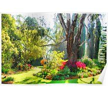 Garden sunlight 2 Poster