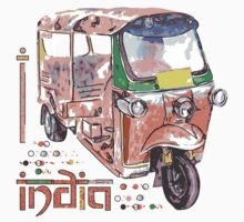 I LOVE INDIA T-shirt by ethnographics