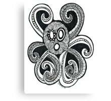 Ooo.. the Octopus Canvas Print