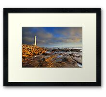 Slangkop Lighthouse, Kommetjie Framed Print