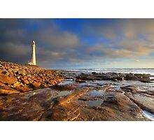 Slangkop Lighthouse, Kommetjie Photographic Print