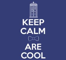 Keep Calm Bow Ties Are Cool by bungeecow