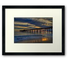 Morning Glow. Framed Print