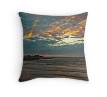 East Beach Sunset - Low Head Tasmania Throw Pillow