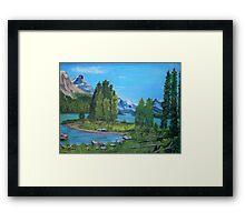 Spirit Island Framed Print