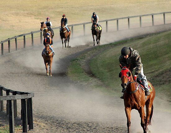 Track Riders by SylanPhotos