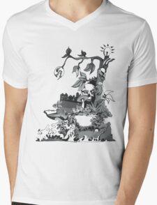 Mean Green Mens V-Neck T-Shirt