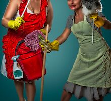 Retro Housewives Part II by Erik Brede