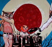 The Hoo (You're Owl Forgiven) Sticker