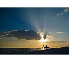 Surf and Sun Photographic Print