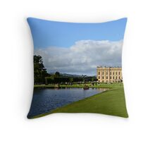 Chatsworth in September Throw Pillow
