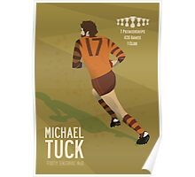 Michael Tuck, Hawthorn Clean As A Whistle version Poster