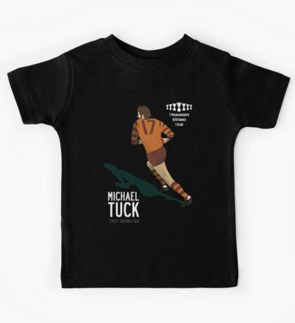 Michael Tuck, Hawthorn Clean As A Whistle version Kids Tee