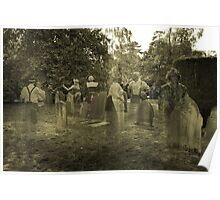The Graveyard Photograph Poster