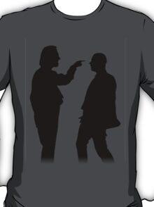 Bottom silhouette - Richie and Eddie T-Shirt
