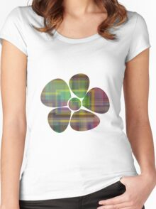 Colorful 7 Women's Fitted Scoop T-Shirt