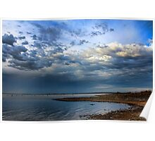Wonderful Clouds Poster
