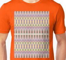 purple multi colored mirror Unisex T-Shirt