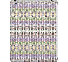 purple multi colored mirror iPad Case/Skin