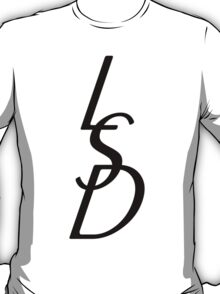 LSD - black on white T-Shirt