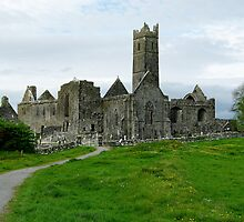 Quin Abbey by Elmacca