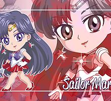 Chibi Sailor Mars  by Rickykun