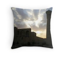 Minaret and Mosque Throw Pillow