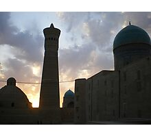 Minaret and Mosques Photographic Print