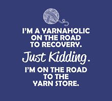I'm A Yarnaholic Womens Fitted T-Shirt