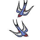 Love Swallows by IamJane--