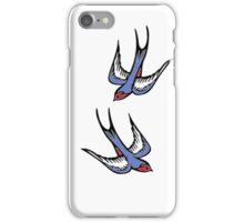 Love Swallows iPhone Case/Skin