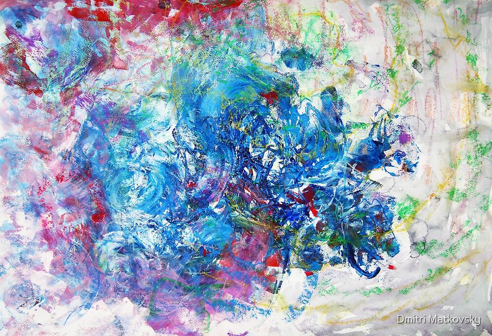 Blue Snow by Dmitri Matkovsky