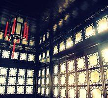 Inside Lion Grove House, Suzhou, Sanya by Chris Millar