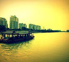 Suzhou Boat, China by Chris Millar