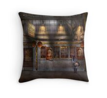 Creepy - Apocolyptic - Obedience and Compliance Throw Pillow