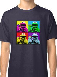 Cookie Monster Pop Art Classic T-Shirt