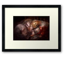 Creepy - Doll - Pleasant Dreams  Framed Print