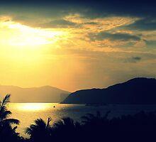 Sanya Sunlight on South China Sea by Chris Millar