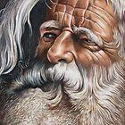 Bearded Man by Ron  Monroe