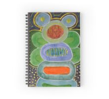 The filled Caterpillar Spiral Notebook