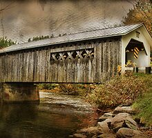 Comstock Bridge 2012 by Deborah  Benoit