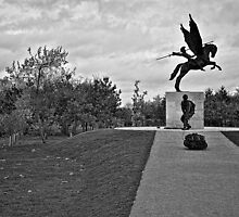 Airborne, & Parachute Regiment Memorial by AlanMartin