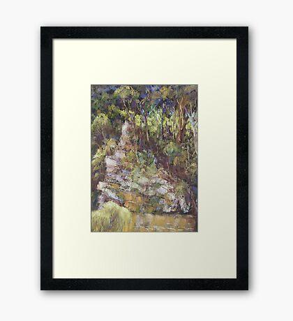 Ellenborough River - plein air Framed Print