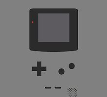 Gameboy Iphone Case Gray by triforce15