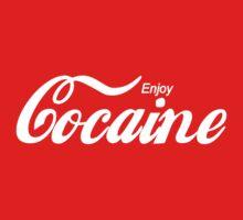 Enjoy Cocaine - red/black by fagbitch