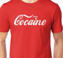 Enjoy Cocaine - red/black Unisex T-Shirt