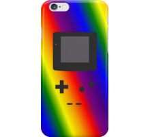 Gameboy Iphone Case Rainbow iPhone Case/Skin